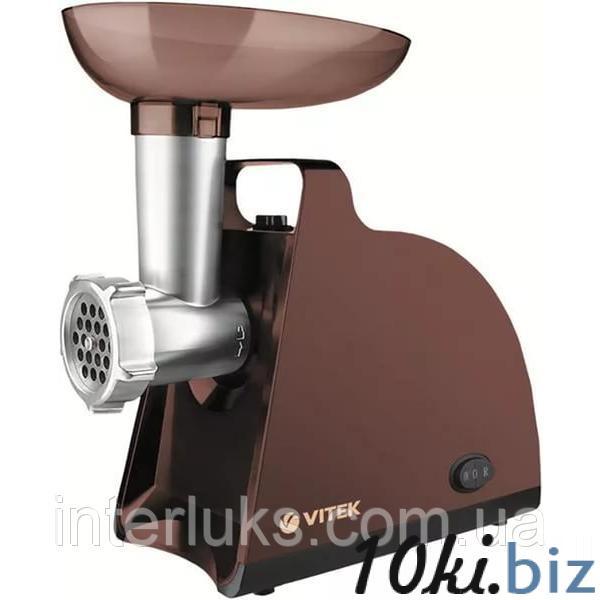 Мясорубка Vitek 1700 Вт, номинал 300 Вт, производительность 1,5 кг/мин - Мясорубки электрические бытовые в магазине Одессы