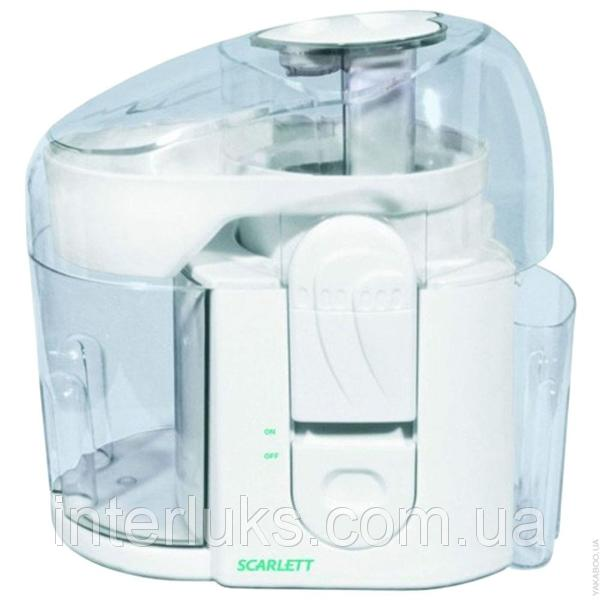 Соковижималка Scarlett 300 Вт об'єм контейнера для м'якоті 1050мл, об'єм стакану для соку 450мл SCARLETT 0012*