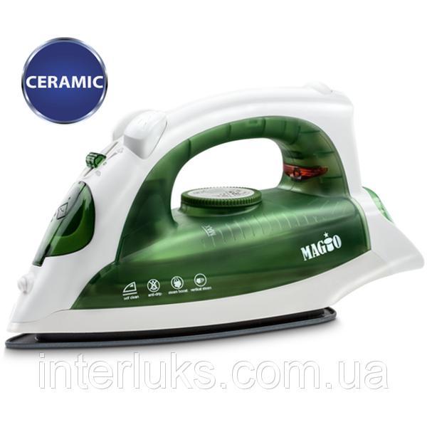 Утюг MAGIO МG-131зелений, 2000Вт керамическое напыление