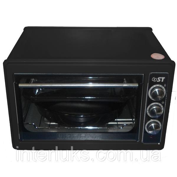 Духовка печь электрическая 33л ST 77-500-03 BLACK