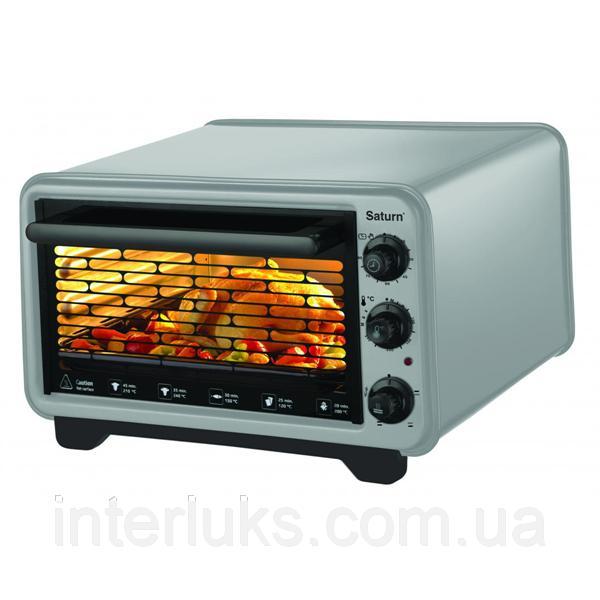 Духовка печь электрическая SATURN ST-EC10702 GRAY