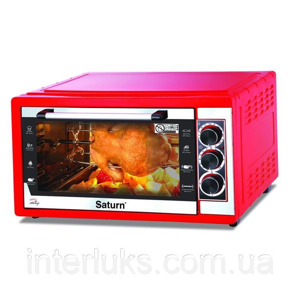 Духовка печь электрическая SATURN ST-EC10708 RED