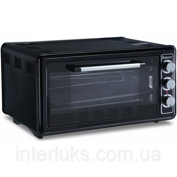 Духовка печь электрическая SATURN ST-EC1074 BLACK