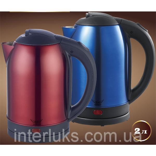 Чайник электрический нерж. (2,0 л; 2 кВт) DEFIANT DEK2000-208S_BLUE