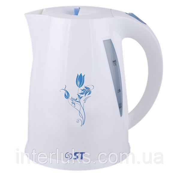 Чайник электрический (1,7 л; подсветка, 2 кВт) ST 45-220-20GF_ГОЛУБОЙ