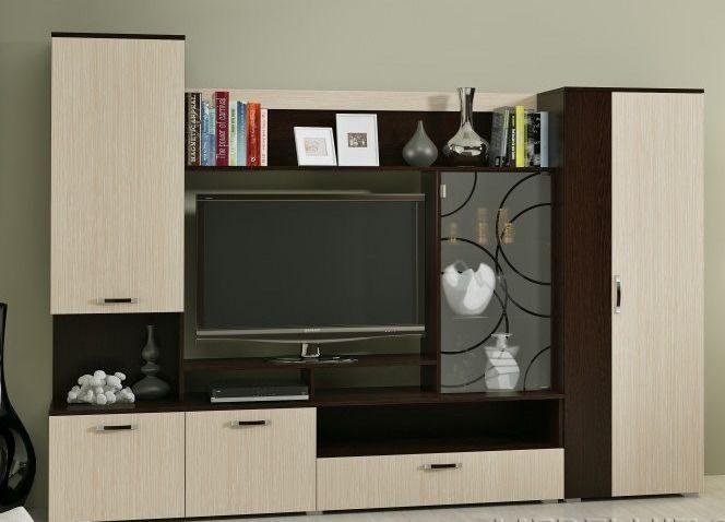 Фото Стенки и мебель для гостиной  Стенка для гостиной Майя-2 (ДСВ МЕБЕЛЬ)