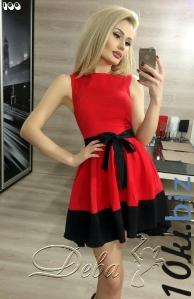 Платье из коттона с хвостом №188 Короткие платья, мини платья на 7км Одесса