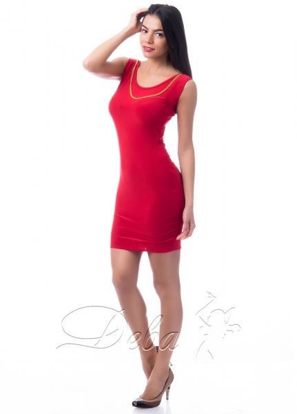 Платье мини из микромасла №181