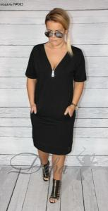Фото Платья Платье черное из креп шифона №083