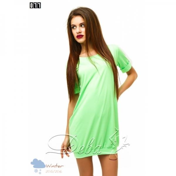 Платье практичное из микро дайвинга №077