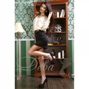 Фото Платья Платье блузкой креп-шифон №033