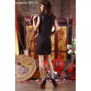 Фото Платья Платье из франц. трикотажа с змейками №025