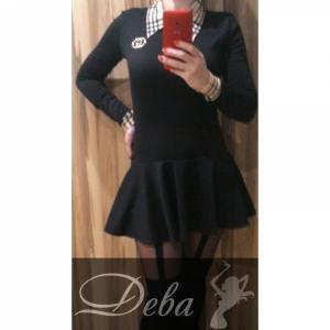 Фото Платья Платье chanel с вставкой burberry №024