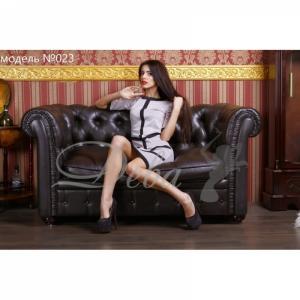 Фото Платья Платье французский трикотаж паучек №023