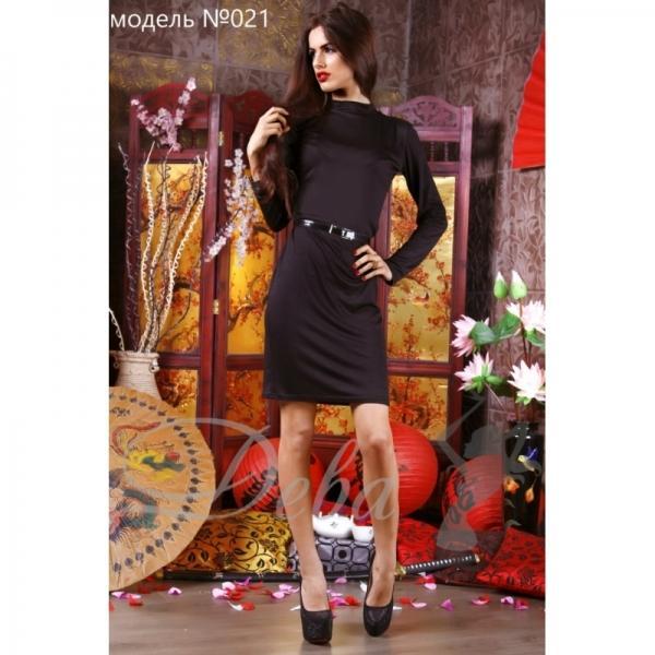 Платье из вискозы №021