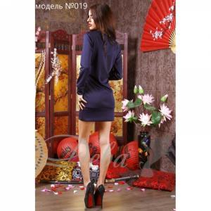 Фото Платья Платье из дайвинга со змейками №019