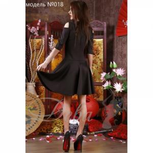 Фото Платья Платье с вырезами на плечах №018