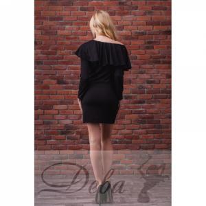 Фото Платья Платье с воланами на плечах №003