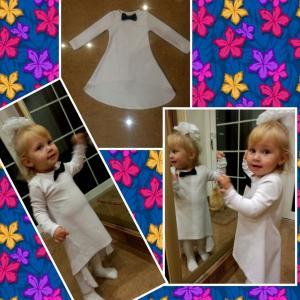 Фото Платья Платье детское из трикотажа №002д