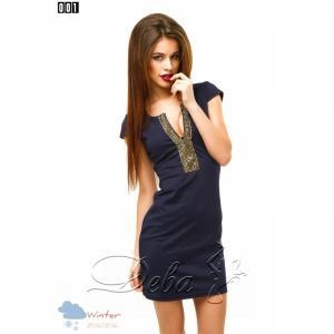 Фото Платья Платье с декором на груди №001