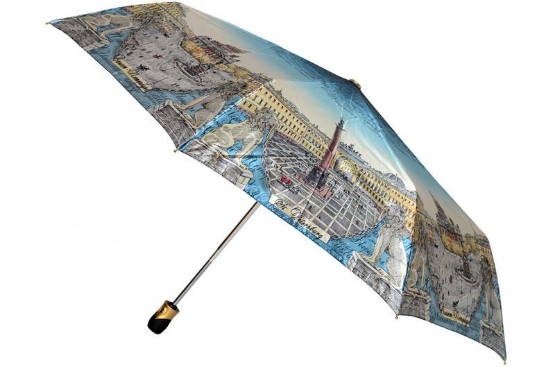 Женский зонт Три Слона ( полный автомат ) арт. 133D-05