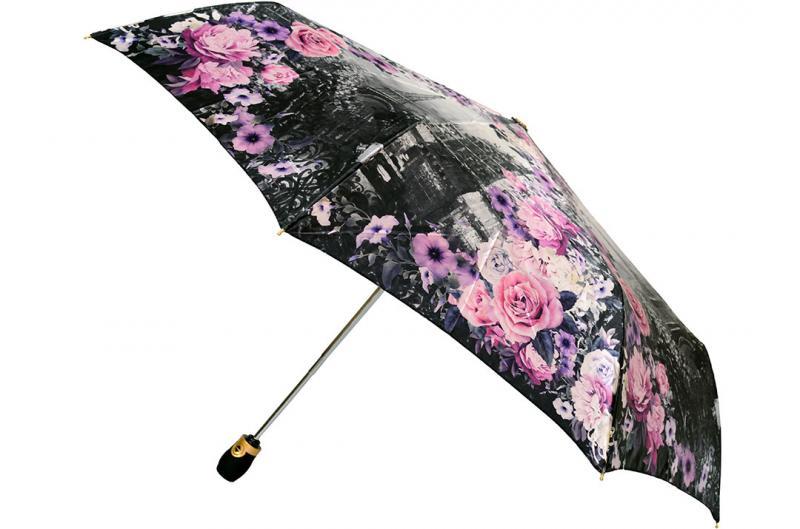 Женский зонт Три Слона ( полный автомат ) арт. 135M-10