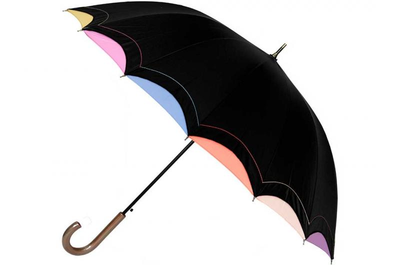Женский зонт Три Слона ( полуавтомат ) арт. 1100-03