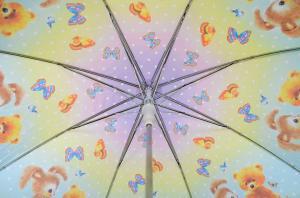 Фото Девчачие Детский зонт Три Слона ( полуавтомат ) арт. 47-01