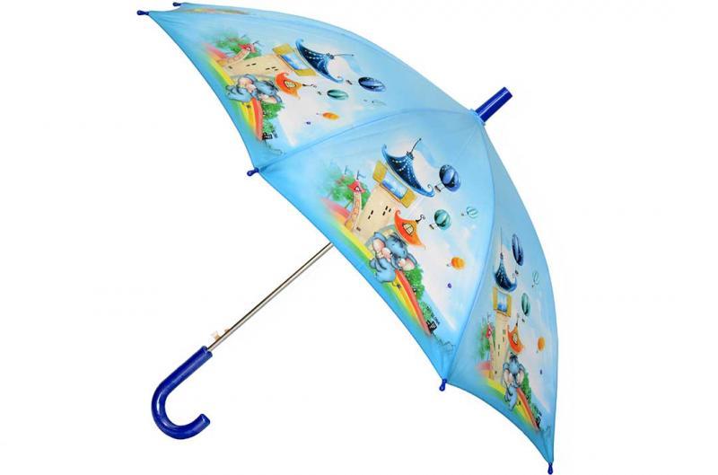 Детский зонт Три Слона ( полуавтомат ) арт. 47-02