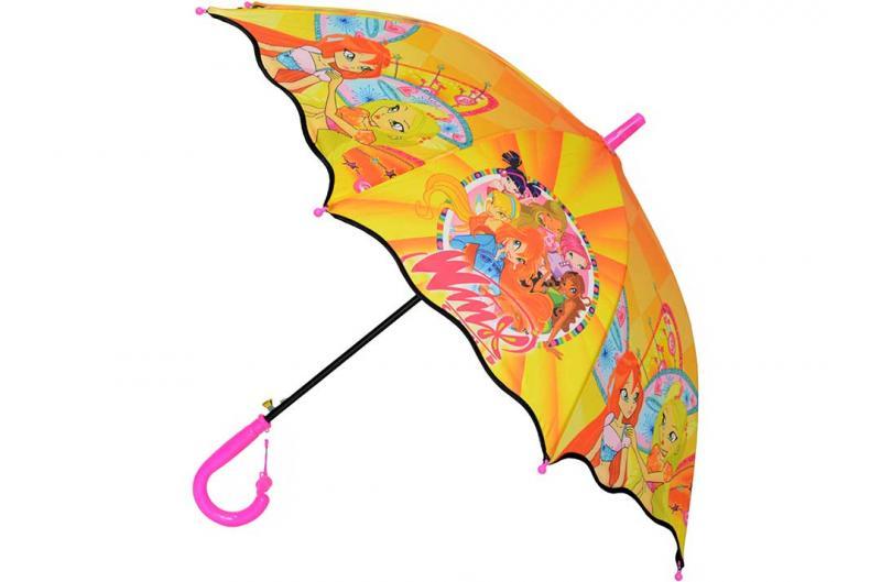 Детский зонт Paolo Rosi ( полуавтомат ) арт. 007-02