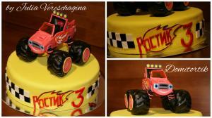 Фото Торты, Детские торты Торт Вспыш
