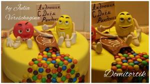 Фото Торты, Детские торты Торт M&M's (Эмемдемс)