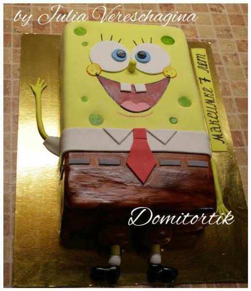 Торт Спанч Боб (Губка Боб)