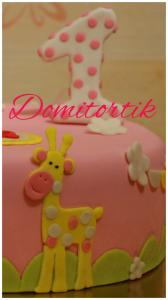 Фото Торты, Детские торты Торт Птичка и жирафик