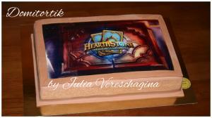 Фото Торты, Фототорт (торт с картинкой) Торт Варкрафт (World of Warcraft)