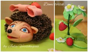 Фото Торты, Детские торты Торт Ежик