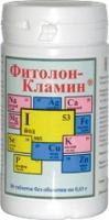 Фото СРЕДСТВА ДЛЯ ВНУТРЕННЕГО ПРИМЕНЕНИЯ  Фитолон-Кламин, таблетки