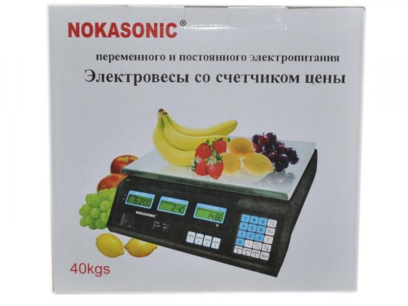 Весы торговые Nokasonic 40кг