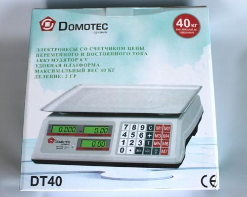 Весы торговые Domotec 40кг