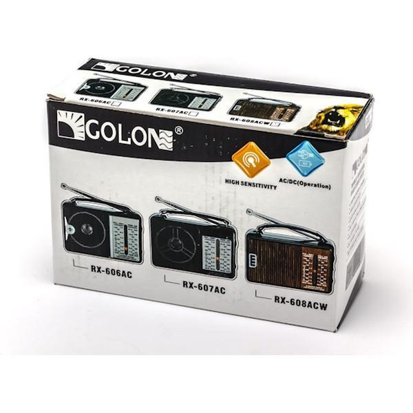 Переносной радиоприемник GOLON RX-608ACW