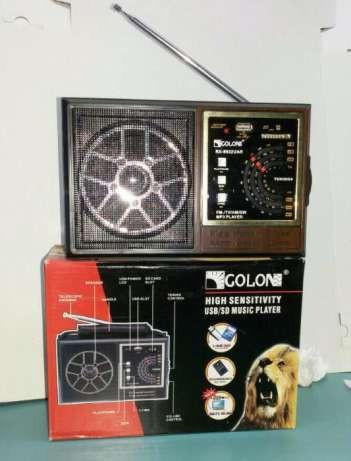 Аудио колонка с радиоприемником  GOLON RX 9922