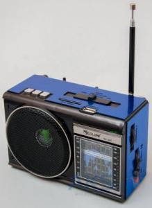 Фото Кронштейны для телевизоров и мониторов, Радиоприёмники Радиоприемник с USB колонкой Golon RX-080
