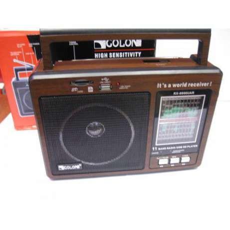 Радиоприемник GOLON RX-9966UAR с usb портом