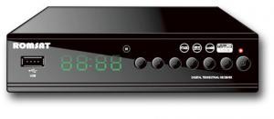 Фото Кронштейны для телевизоров и мониторов, Цифровое эфирное телевидение dvb-t2 Romsat T2090