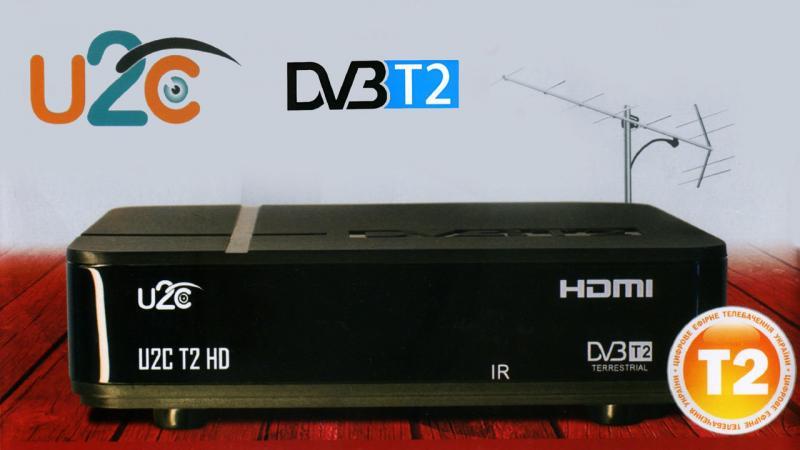 Цифровой эфирный ресивер U2C T2 HD
