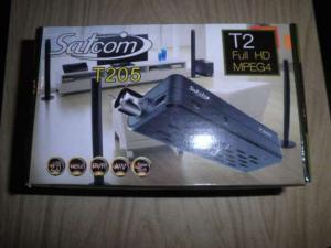 Фото Кронштейны для телевизоров и мониторов, Цифровое эфирное телевидение dvb-t2 Цифровой эфирный тюнер T2  Satcom T-205