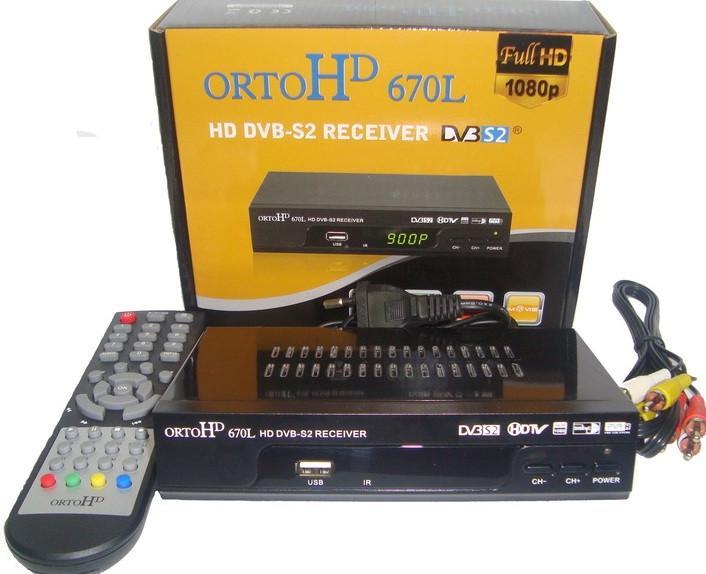 Ресивер ORTO HD 670L