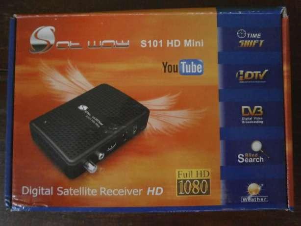 Sat Way S101 HD mini – цифровой спутниковый HD ресивер