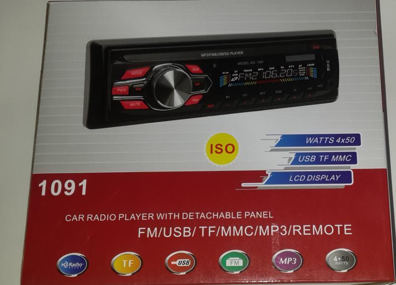 Автомагнитола MP3 Pioneer 1091