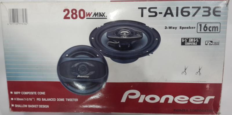 Авто акустика Pioneer 16 см (TS-1673E)